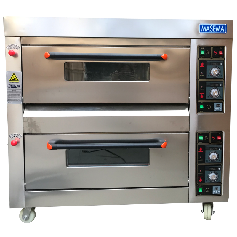OVEN 2 DECK 4 TRAY new