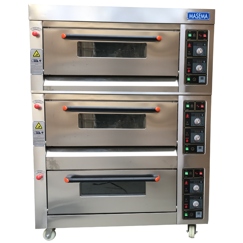 OVEN 3 DECK 6 TRAY 800x800