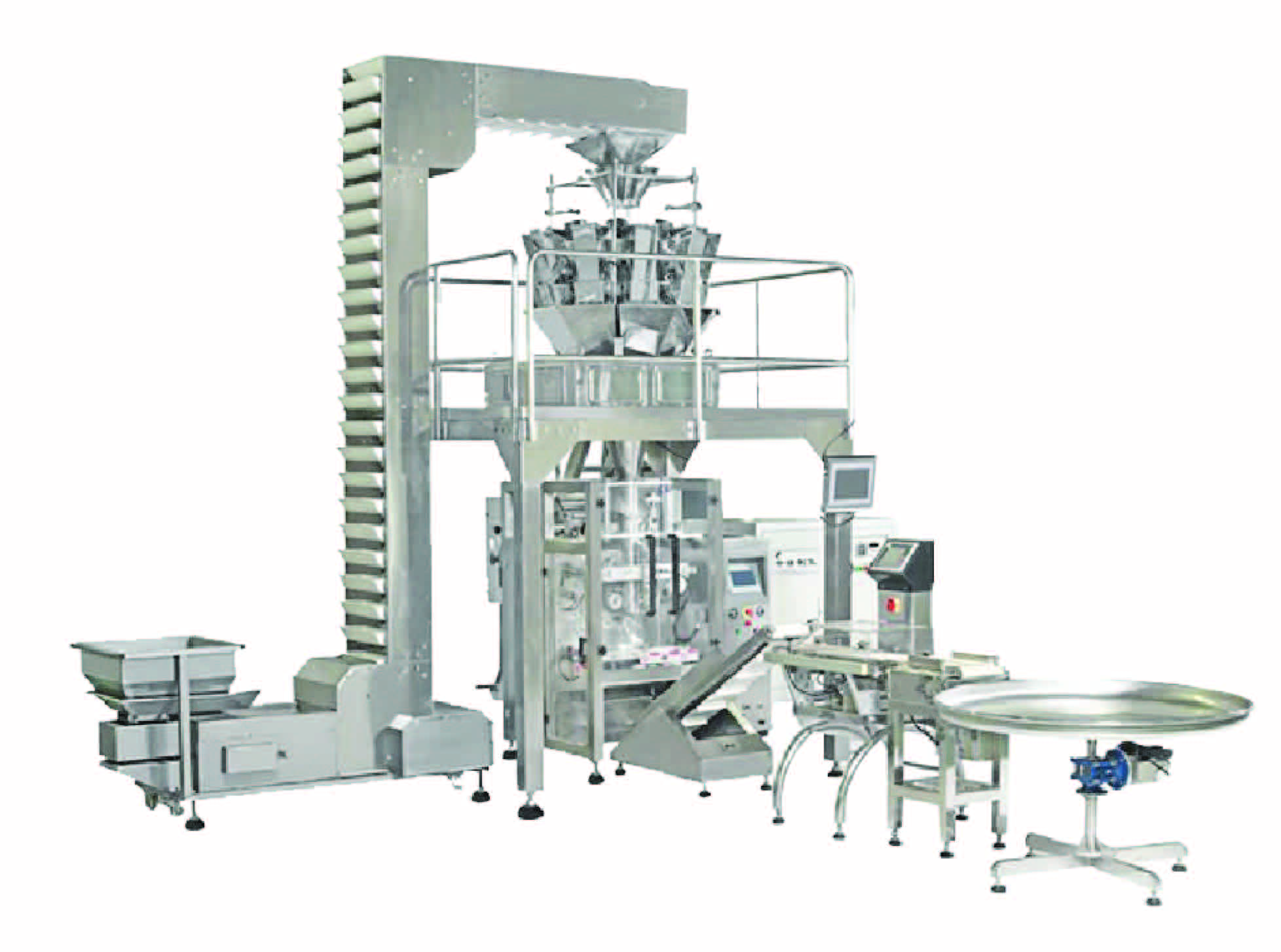 2-9_hal4 pro 1(7a) Vertical Packaging Machine with Multi-Heads Weigher