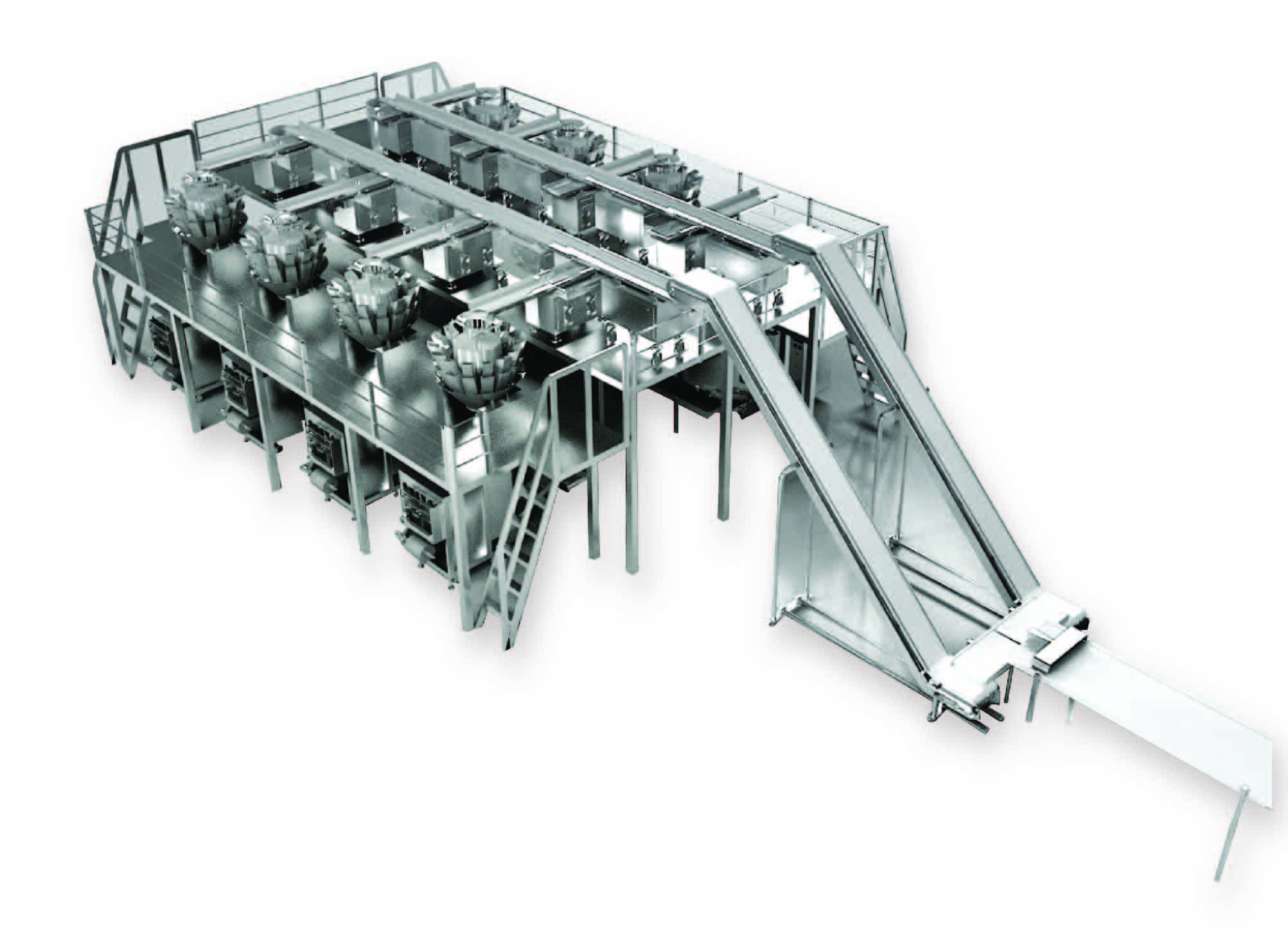 2-9_hal4 pro 1(7b)Vertical Packaging Machine with Multi-Heads Weigher