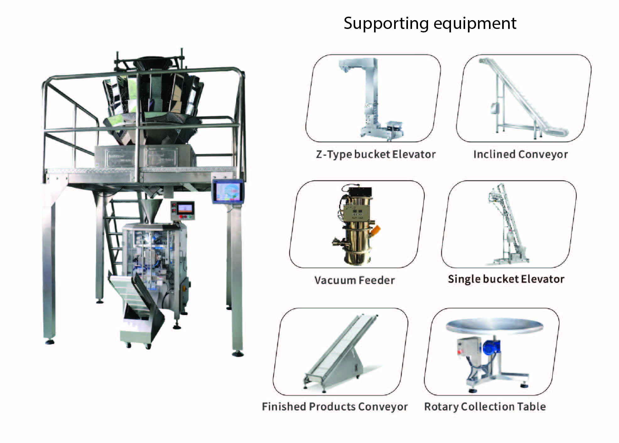 2-9_hal5 pro1 (9) VFFS Packaging Machine with Multihead Weigher System